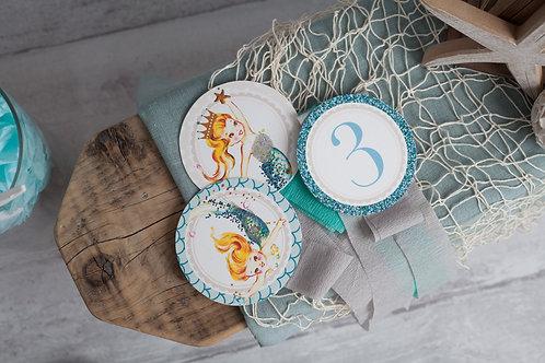 Mermaid Rosette Decorations