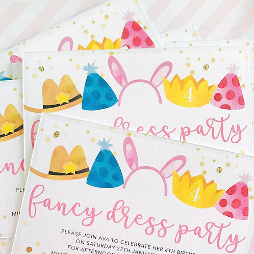 Fancy Dress Party Invitations