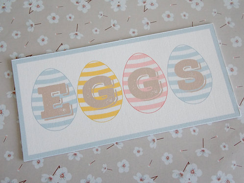 Easter Egg Signs