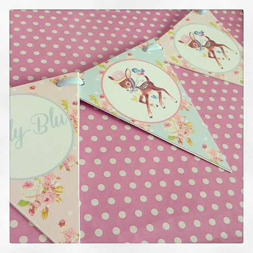 Little Deer Party Bunting