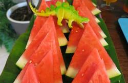 Watermelon spikes
