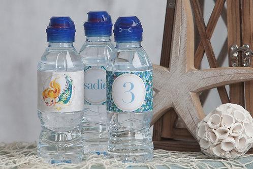 Mermaid Bottle Labels