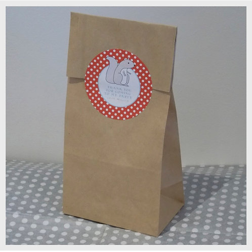 Woodland Walk Party Bags