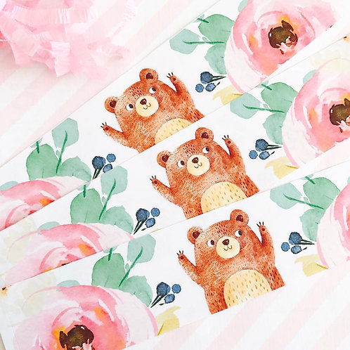 Teddy Bears Picnic Bottle Labels (girl)