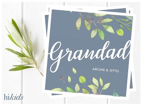 Father's Day Card- Grandad