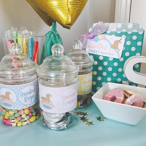 Unicorn Sweet Jars