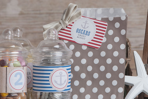 Nautical Sweet Bag pack