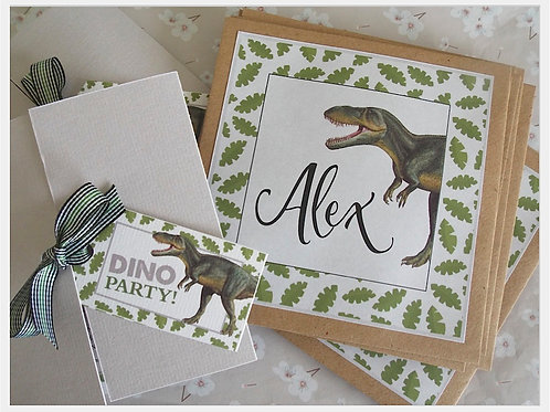 Dinosaur Roar Large Envelope Stickers