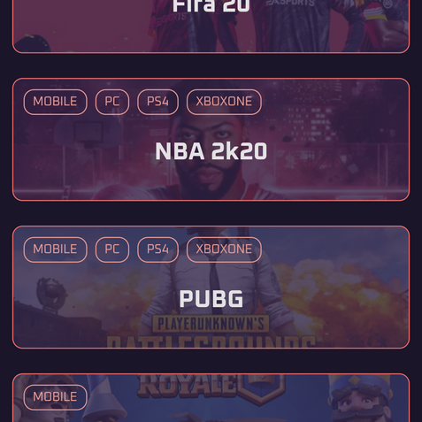 Many games to play (and many more to come)