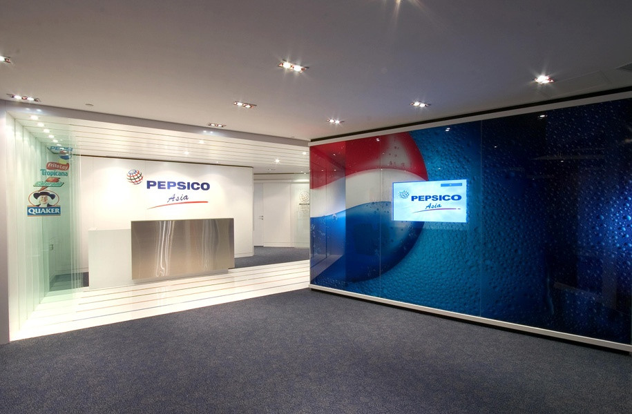 Pepsico entrance