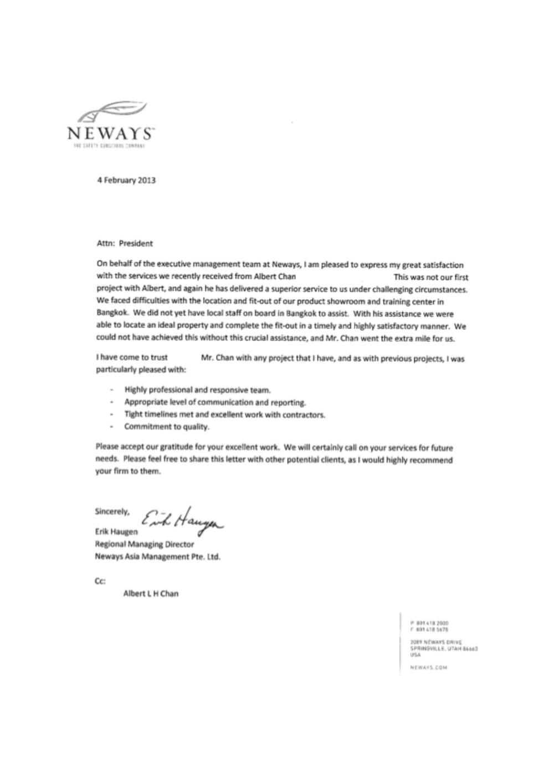 Neways Testimonial 2013