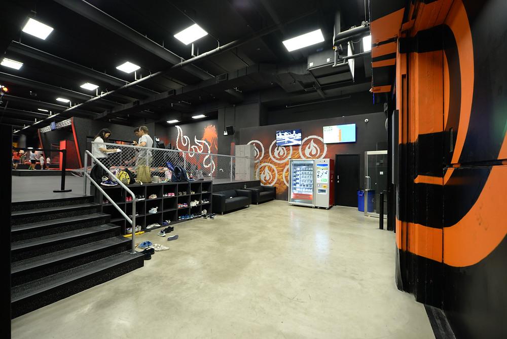 Ryze Ninja Park Entrance