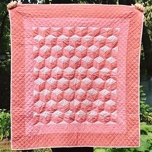 Rojo Cube Quilt