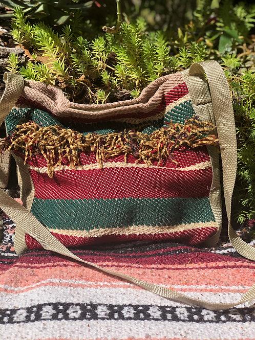 Upcycled Cross Body Bag
