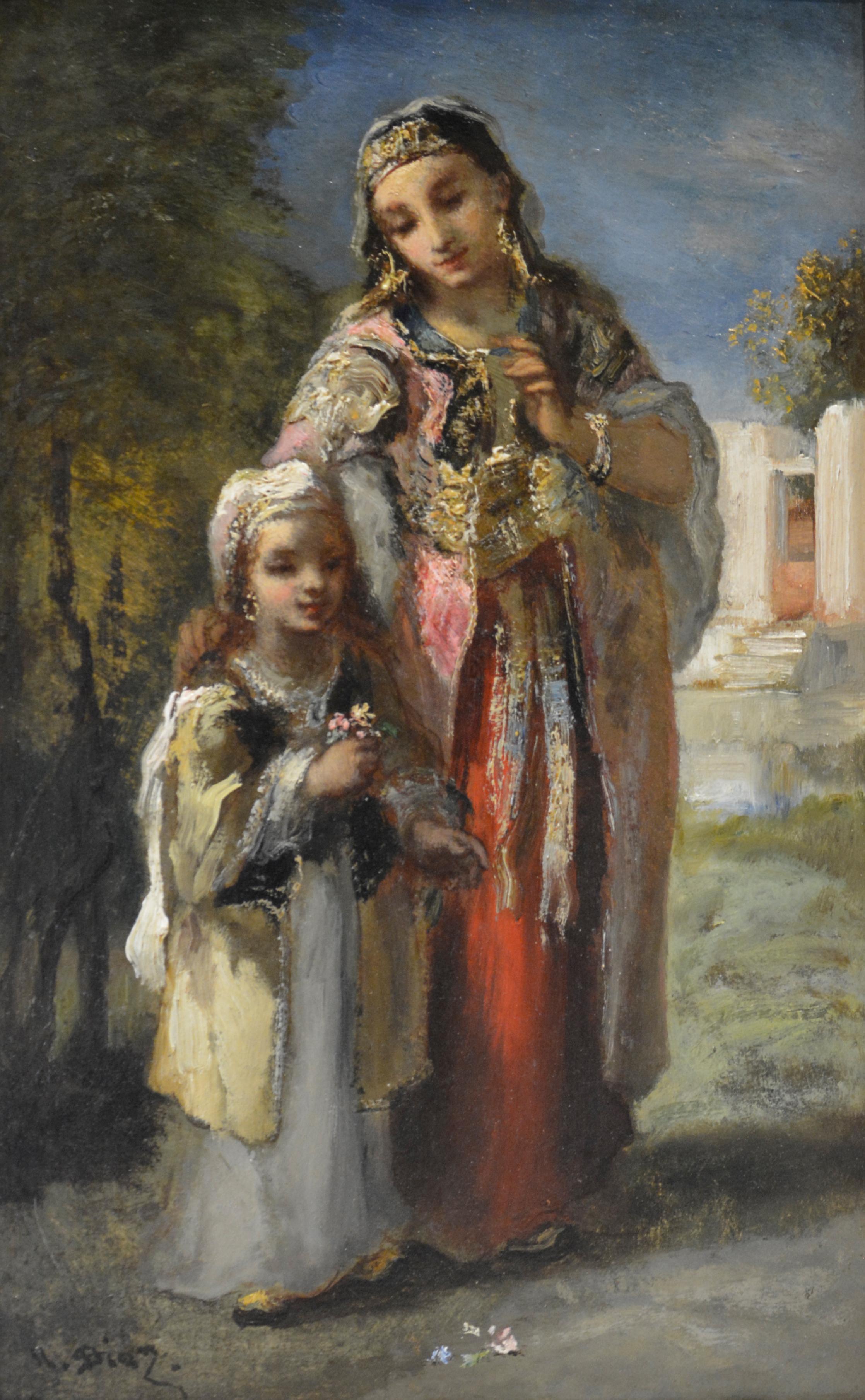 diaz orientale et sa fille hdef