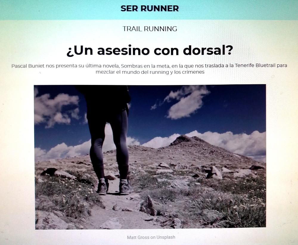 Una novela negra en el mundo del trail running. Entrevista dirigida por Veronica Gomez y Jon Egaña de la ser Bilbao.