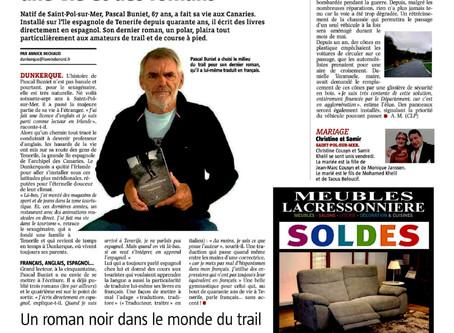 Pascal Buniet, une vie et des romans à Tenerife