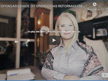 A RESPONSABILIDADE DO SÍNDICO NAS REFORMAS EM CONDOMÍNIO CONFORME NBR-16.280/2014 E CÓDIGO CIVIL