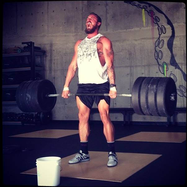 Deadlift in San Diego gym