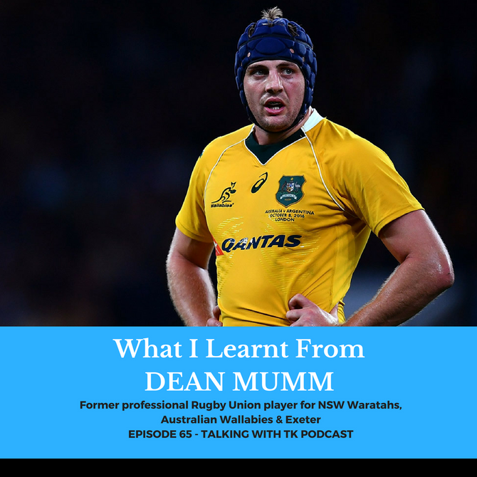 What I Learnt From Dean Mumm