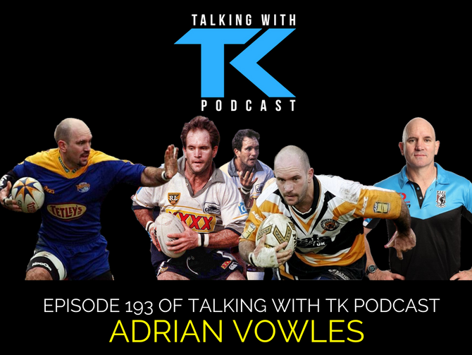 Episode 193 - Adrian Vowles