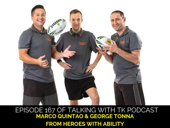 Episode 167 - Marco Quintao & George Tonna from Heroes with Ability