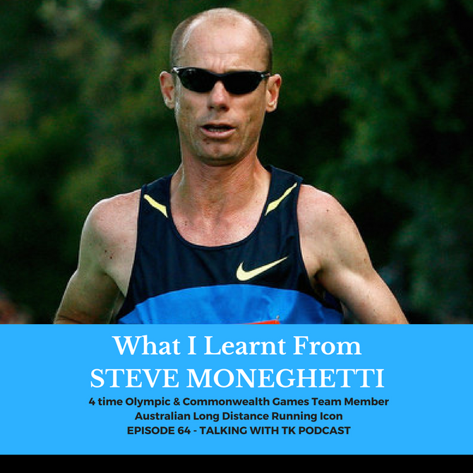 What I Learnt From Steve Moneghetti