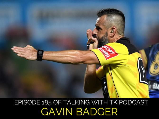 Episode 185 - Gavin Badger