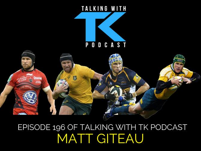 Episode 196 - Matt Giteau