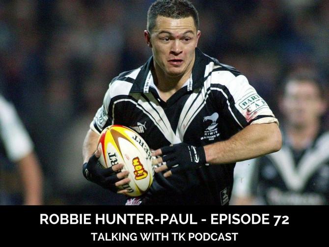 Episode 72 - Robbie Hunter-Paul