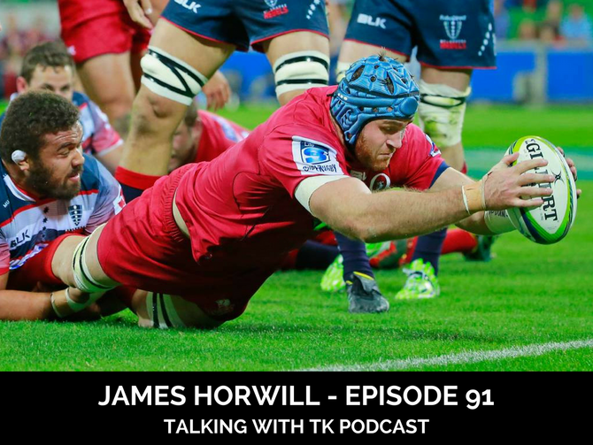Episode 91 - James Horwill