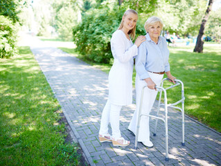 Becoming a Caregiver for Mom