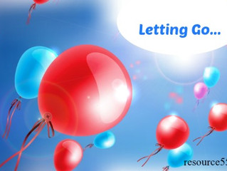 Letting Go Of What is Holding Us