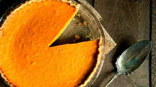 Sweet Potato Walnut Pie