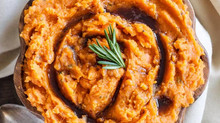 Sweet Potato Mash with Rosemary