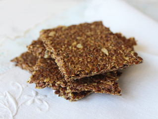 Simple Flax Crackers