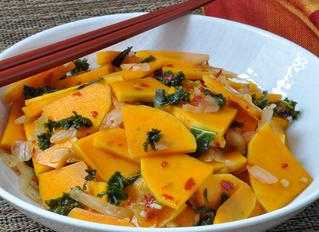Butternut Squash Kimchi