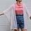Thumbnail: Lace Kimono Wrap Top in ecru