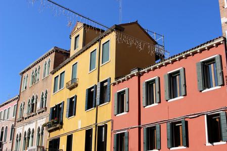 bold colours around Venice