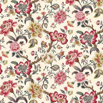 Example of chintz fabric (source unknown)