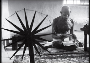 Margaret Bourke-White,  The LIFE Picture Collection, Gandhi, 1946.