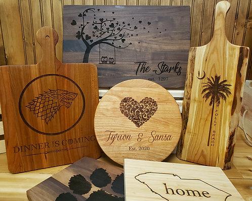 Custom Design Cutting Board