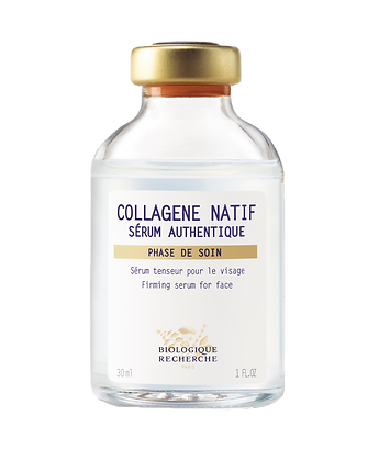 BIOLOGIQUE RECHERCHE COLLAGENE NATIF SERUM AUTHENTIQUE