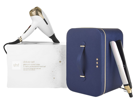 GHD PLATINUM+ & HELIOS DELUXE GIFT SET