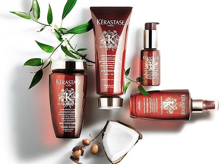 EXPERIENCE GREEN LUXURY FROM KERASTASE