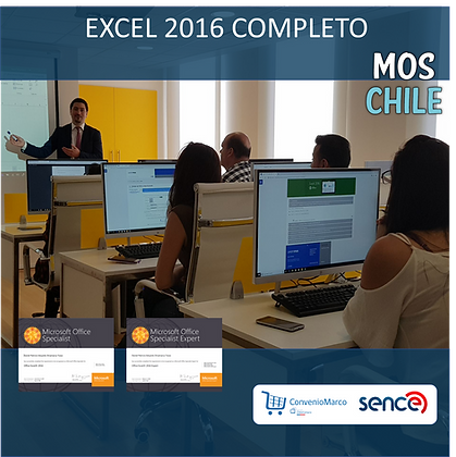 LEARNMOS EXCEL CORE 2016  + GMETRIX EXPERT 2016