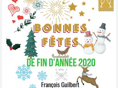 Bonnes fêtes de fin d'année 2020.