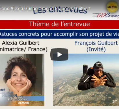 Alexia GUILBERT reçoit François GUILBERT : bande annonce.