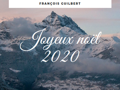 Joyeux noël 2020.