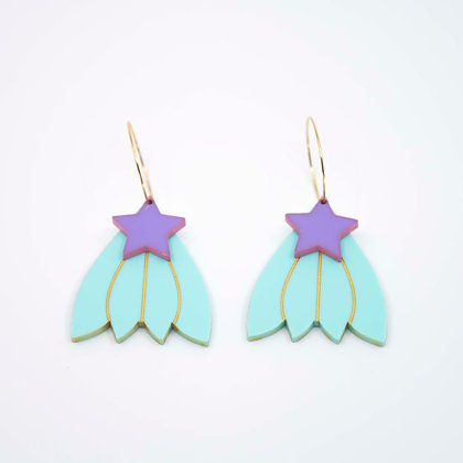 Ziggy Double Drop Earrings